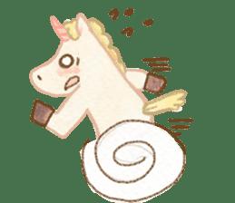 Unicorn MaNi's Daily sticker #7291081