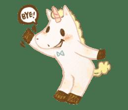 Unicorn MaNi's Daily sticker #7291083