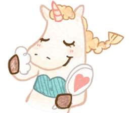 Unicorn MaNi's Daily sticker #7291084