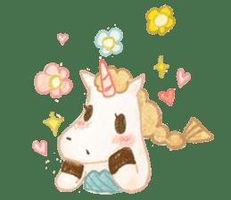 Unicorn MaNi's Daily sticker #7291085