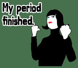 Having period sticker #7303965
