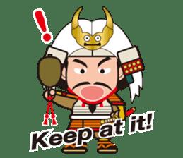 Sengoku Busho/Samurai All-star Cast sticker #7310088