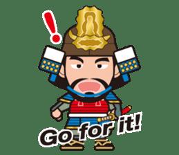 Sengoku Busho/Samurai All-star Cast sticker #7310089