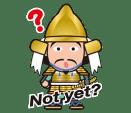 Sengoku Busho/Samurai All-star Cast sticker #7310092