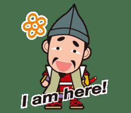 Sengoku Busho/Samurai All-star Cast sticker #7310093
