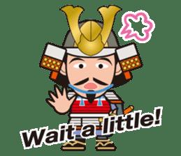 Sengoku Busho/Samurai All-star Cast sticker #7310094