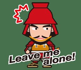 Sengoku Busho/Samurai All-star Cast sticker #7310095
