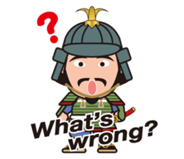 Sengoku Busho/Samurai All-star Cast sticker #7310096
