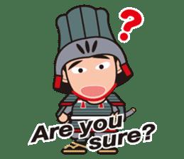 Sengoku Busho/Samurai All-star Cast sticker #7310097
