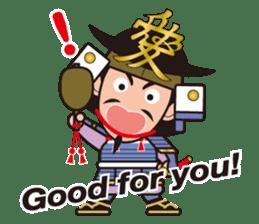 Sengoku Busho/Samurai All-star Cast sticker #7310098