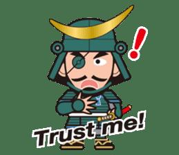 Sengoku Busho/Samurai All-star Cast sticker #7310100