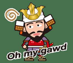 Sengoku Busho/Samurai All-star Cast sticker #7310102