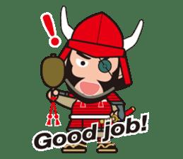 Sengoku Busho/Samurai All-star Cast sticker #7310103