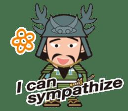 Sengoku Busho/Samurai All-star Cast sticker #7310105