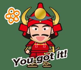 Sengoku Busho/Samurai All-star Cast sticker #7310107