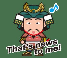 Sengoku Busho/Samurai All-star Cast sticker #7310108