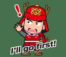 Sengoku Busho/Samurai All-star Cast sticker #7310109