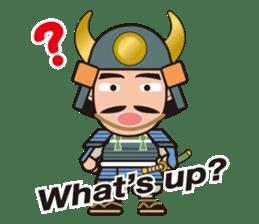 Sengoku Busho/Samurai All-star Cast sticker #7310113