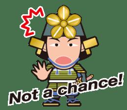 Sengoku Busho/Samurai All-star Cast sticker #7310115