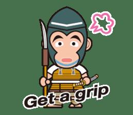 Sengoku Busho/Samurai All-star Cast sticker #7310116