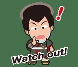 Sengoku Busho/Samurai All-star Cast sticker #7310118