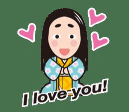 Sengoku Busho/Samurai All-star Cast sticker #7310127