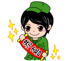 ARMY DAILY LIFE 2 sticker #7312101