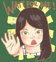 Javanesse Girl sticker #7313288