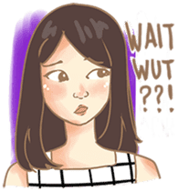 Javanesse Girl sticker #7313289