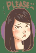 Javanesse Girl sticker #7313290