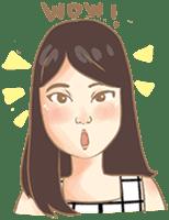 Javanesse Girl sticker #7313298