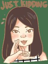 Javanesse Girl sticker #7313305