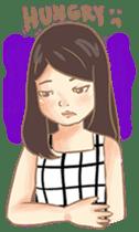 Javanesse Girl sticker #7313309