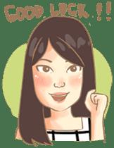 Javanesse Girl sticker #7313311