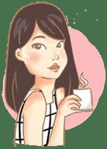 Javanesse Girl sticker #7313314