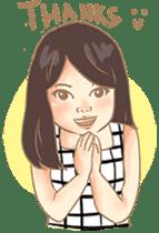 Javanesse Girl sticker #7313315