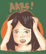 Javanesse Girl sticker #7313319