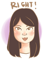 Javanesse Girl sticker #7313322
