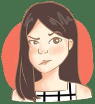 Javanesse Girl sticker #7313323