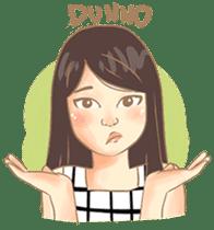 Javanesse Girl sticker #7313324