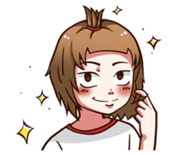 Daily The very normal girl (EN) sticker #7313998