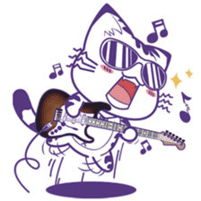 Midifan's mascot Meowlody sticker #7314745