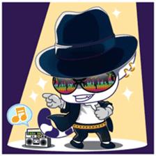 Midifan's mascot Meowlody sticker #7314780