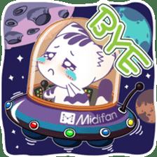 Midifan's mascot Meowlody sticker #7314781