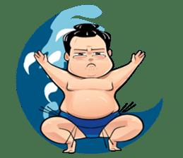 Gonishiki: Sumo by Internship Japan sticker #7320264
