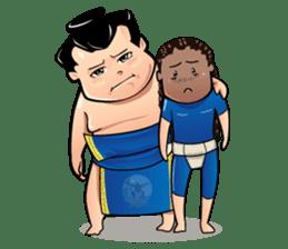 Gonishiki: Sumo by Internship Japan sticker #7320270