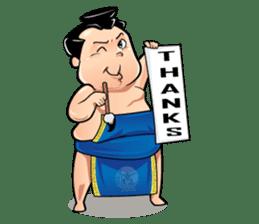 Gonishiki: Sumo by Internship Japan sticker #7320277