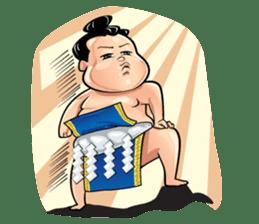 Gonishiki: Sumo by Internship Japan sticker #7320289
