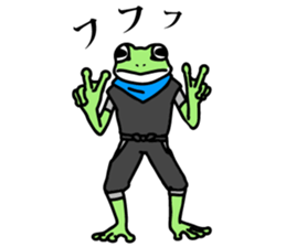 Ninja Boy Geko-hara sticker #7323633