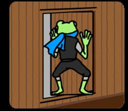 Ninja Boy Geko-hara sticker #7323636